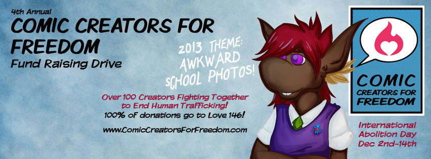 4th Annual Comic Creators For Freedom Fundraising Drive