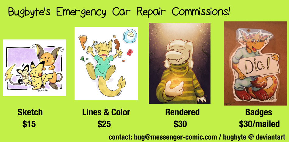 Bugbyte's Emergency Car Repair Commissions!